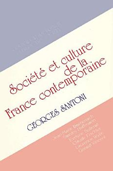 Contemporary French Culture and Society PDF