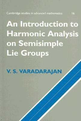 An Introduction to Harmonic Analysis on Semisimple Lie Groups PDF