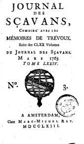 Le journal des sçavans, combiné avec les mémoires de Trévoux: Volume74