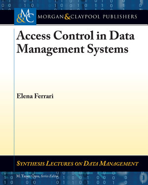 Access Control in Data Management Systems PDF