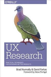 UX Research Book