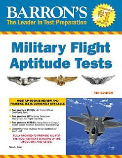 Barron s Military Flight Aptitude Tests Book