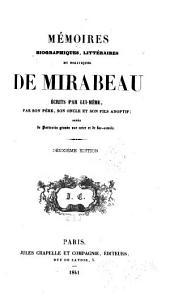 Mémoires biographiques, littéraires et politiques de Mirabeau: Volume3