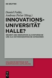 Innovationsuniversit  t Halle  PDF
