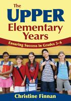 The Upper Elementary Years PDF
