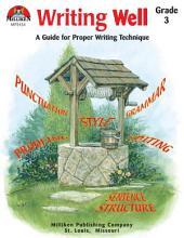 Writing Well Grade 3 (ENHANCED eBook)