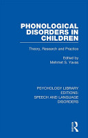 Phonological Disorders in Children PDF