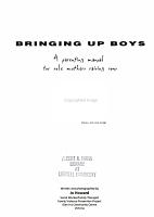 Bringing Up Boys PDF