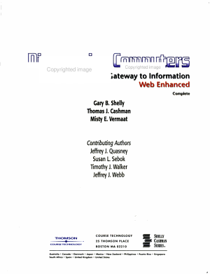 Discovering Computers 2005 PDF