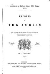 Reports by the juries on the subjects in the thirty classes into which the exhibition was divided: Volume 2