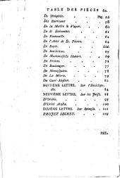 Lettres à son altesse monseigneur le prince de **** [by F.M.A. de Voltaire. With an additional title-leaf reading Catalogue raisonné des esprits forts, depuis le curé Rabelais, jusqu'au curé Jean Meslier. Dressé par M.P.V. Berl., 1768.].