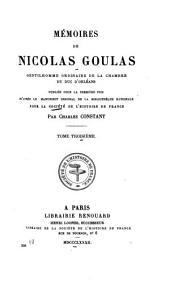 Société de l'histoire de France: Volume208,Partie3