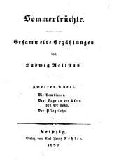 Sommerfrüchte: Gesammelte Erzählungen, Band 2
