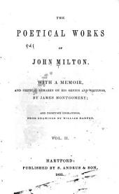 The poetical works of John Milton: Volume 2