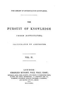 The Pursuit of Knowledge Under Difficulties Book