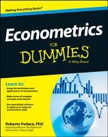 Econometrics For Dummies PDF