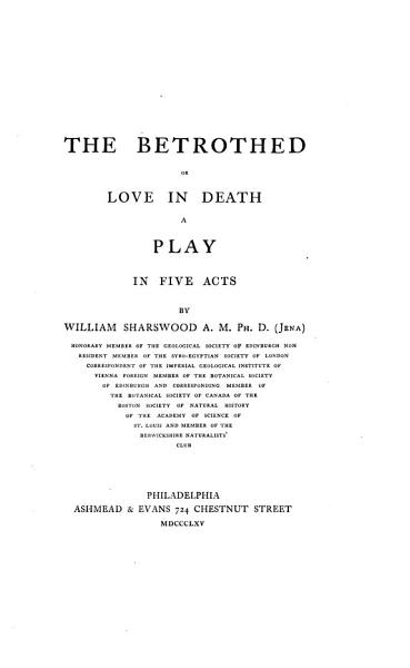 Download The Betrothed  Or  Love in Death Book