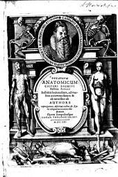 Theatrvm Anatomicum Caspari Bauhini Basileen. Archiatri