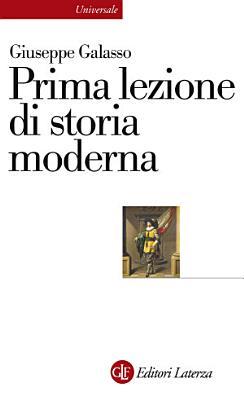 Prima lezione di storia moderna PDF