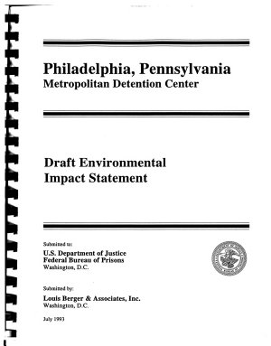 Metropolitan Detention Center  Philadelphia PDF