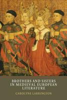 Brothers and Sisters in Medieval European Literature PDF