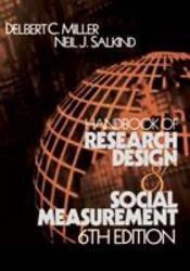 Handbook Of Research Design And Social Measurement Book PDF