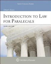 Introduction to Law for Paralegals: Edition 8