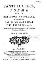 L'Anti-Lucrèce: poème sur la religion naturelle