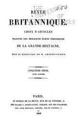 Revue britannique: Volumes11à12