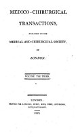 Medico chirurgical Transactions published by the Medical and Chirurgical Society of London PDF