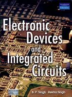 Electronic Devices and Integrated Circuits PDF