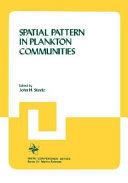 Spatial Pattern in Plankton Communities