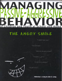 Managing Passive aggressive Behavior of Children and Youth at School and Home PDF