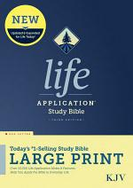 KJV Life Application Study Bible, Third Edition, Large Print (Red Letter, Hardcover)