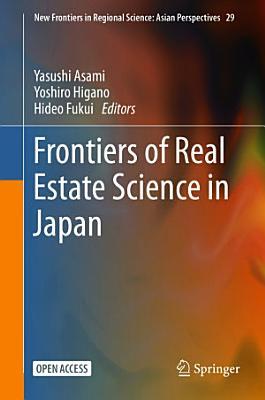 Frontiers of Real Estate Science in Japan PDF
