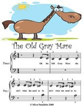 The Old Gray Mare - Beginner Tots Piano Sheet Music