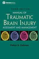 Manual of Traumatic Brain Injury  Third Edition PDF