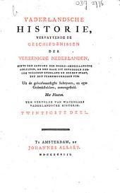 Vaderlandsche historie, vervattende de geschiedenissen der Vereenigde Nederlanden, zints den aanvang der Noord-Americaansche onlusten, en den daar uit gevolgden oorlog tusschen Engeland en deezen staat, tot den tegenwoordigen tyd: Volume 20