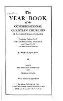 The Yearbook of the Congregational Christian Churches of the United States of America