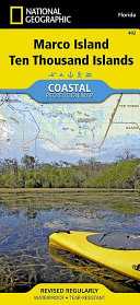 National Geographic Marco Island  Ten Thousand Islands Map