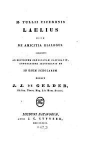 Laelius, sive De amicitia dialogus