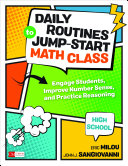 Daily Routines to Jump-Start Math Class, High School