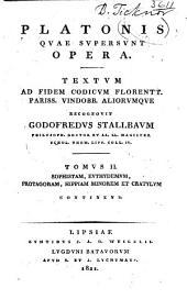 Platonis qvae svpersvnt opera: Textvm ad fidem codicvm florentt. pariss. vindobb. aliorvmqve, Τόμος 2