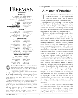 The Freeman PDF