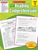 Scholastic Success With Reading Comprehension  Grade 5 Book