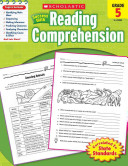 Scholastic Success With Reading Comprehension  Grade 5 Book
