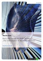 Race and racism in Mark Twains  The Adventures of Huckleberry Finn  PDF