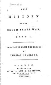 The history of the Seven Years War