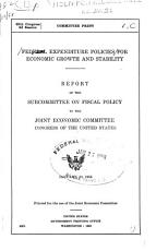 Federal Expenditure Policies for Economic Growth and Stability PDF