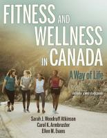 Fitness and Wellness in Canada PDF